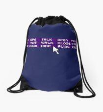 Retro Activities Drawstring Bag