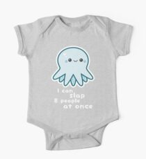 Funny Slapping Octopus One Piece - Short Sleeve