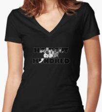 Haircut One Hundred Women's Fitted V-Neck T-Shirt