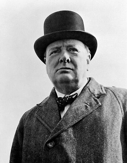 Sir Winston Churchill by warishellstore
