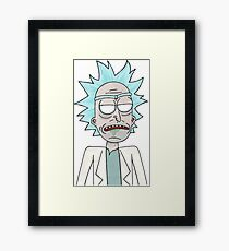 Zombie Rick (Rick and Morty) Framed Print