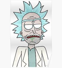 Zombie Rick (Rick and Morty) Poster