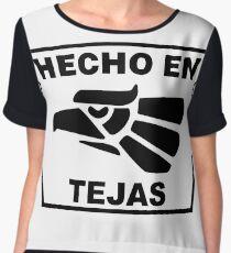 Hecho en Tejas Women's Chiffon Top