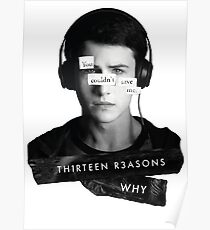Thirteen Reasons Why - Clay Poster