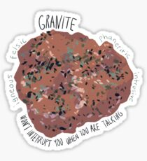 Granite  Sticker