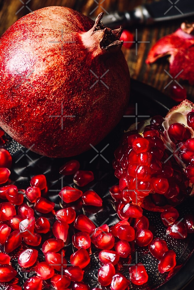 Pomegranate with Seeds. by Sevablsv