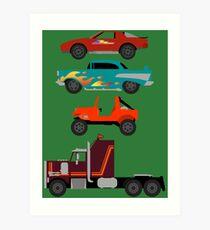The Car's The Star: M.A.S.K. Art Print