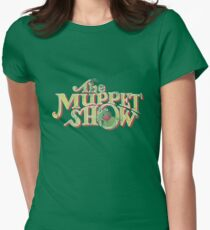 Vintage Muppet Show Womens Fitted T-Shirt