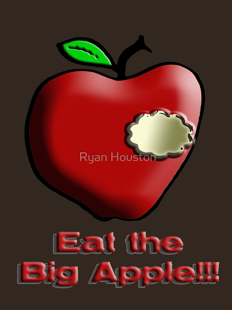 Eat the Big Apple!!! by photoforyou