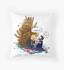 Breadnic Throw Pillow