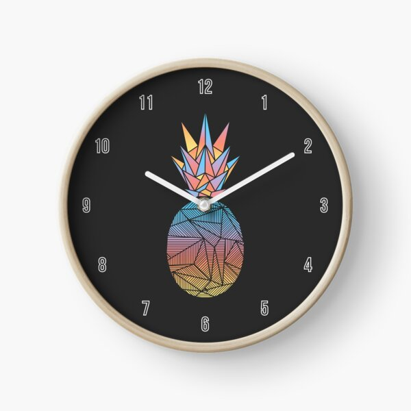 Bakana Rays Pineapple Clock