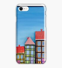 3D Oil Painting og Copenhagen, Nyhavn iPhone Case/Skin