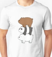We Bare Bears III Unisex T-Shirt