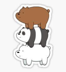 We Bare Bears III Sticker