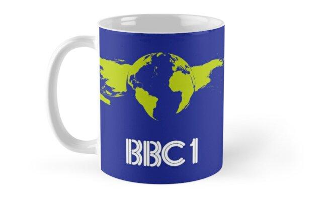 BBC1 70s/80s Globe Mug