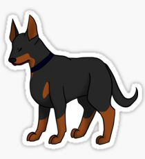 Doberman Sticker