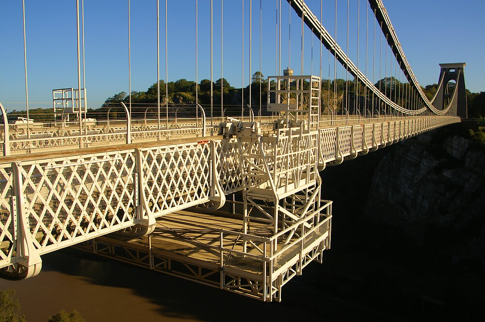 Clifton Suspension Bridge by Sandy  McClearn