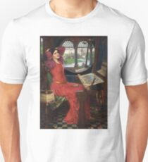 I am half-sick of shadows, said the Lady of Shalott - John William Waterhouse Unisex T-Shirt