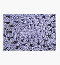 Knit pattern Photographic Print