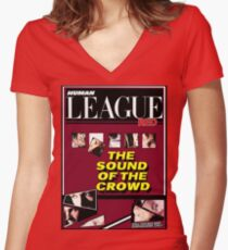 Human League The sound of the crowd  Women's Fitted V-Neck T-Shirt