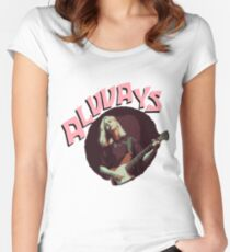 Forever and Alvvays  Women's Fitted Scoop T-Shirt