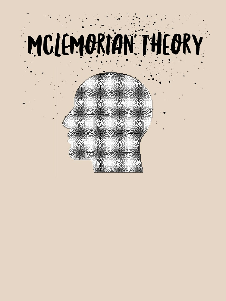 Mclemorian Theory- Mind Maze Splatter  by tees4gees