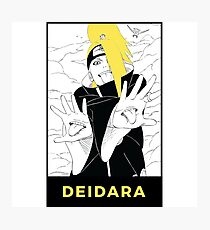 Deidara Photographic Print