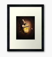 """Dr. John """"M"""" Watson Framed Print"""
