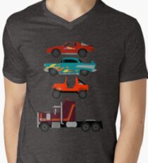 The Car's The Star: M.A.S.K. Men's V-Neck T-Shirt