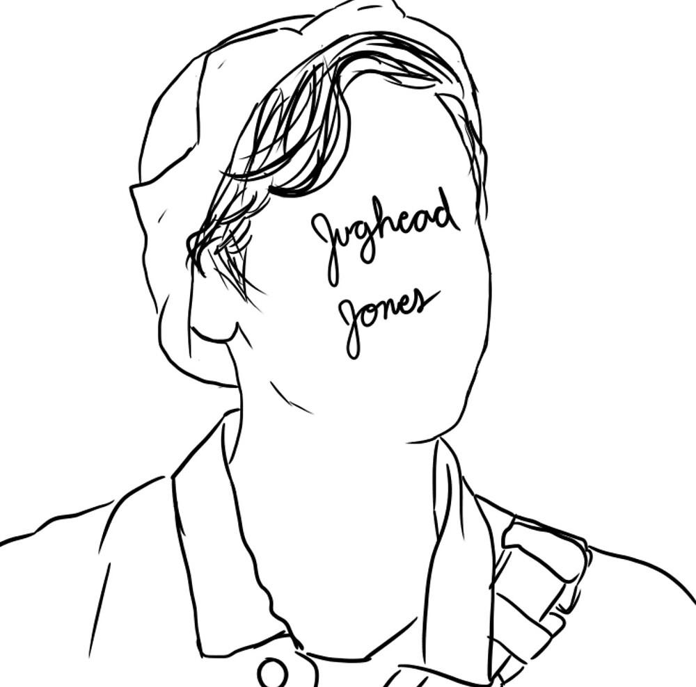 Jughead jones by Kennedy Blanchard