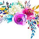 Romantischer Rosen-Blumen-Blumenstrauß # 3 von BekkaCampbell