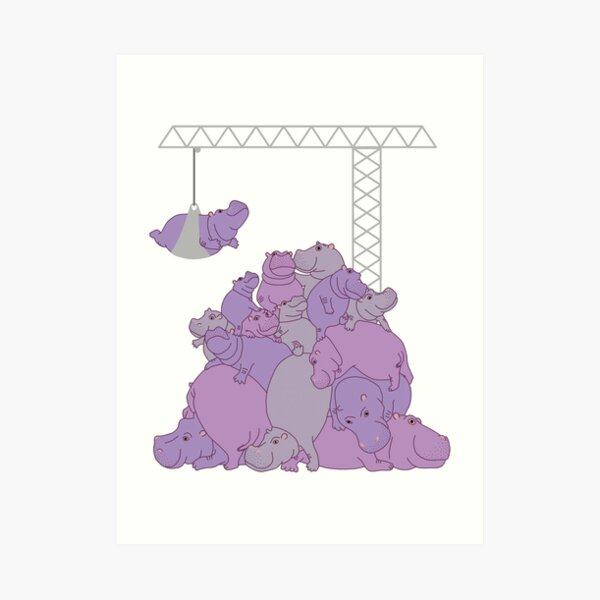 Hippopotapile - The more the merrier! Impression artistique