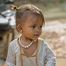 Village Girl 2 by Werner Padarin