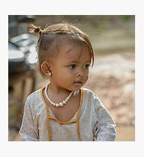 Village Girl 2 Photographic Print