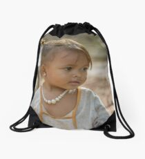 Village Girl 2 Drawstring Bag