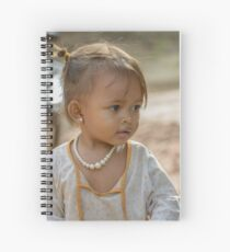 Village Girl 2 Spiral Notebook