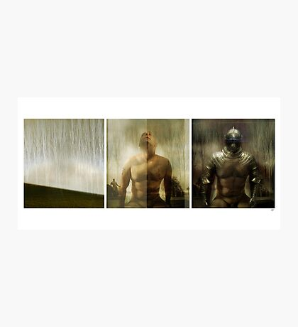 Armour maketh the man Photographic Print