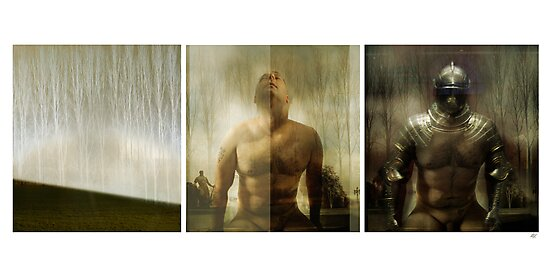 Armour maketh the man by Paul Vanzella