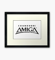 Commodore Amiga Framed Print