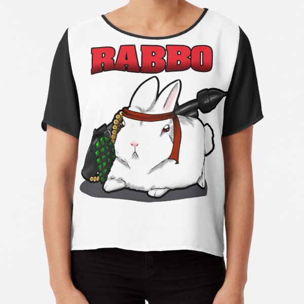 RABBO Chiffon Top