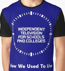 Independent Television For Schools And Colleges - 1980s Graphic T-Shirt