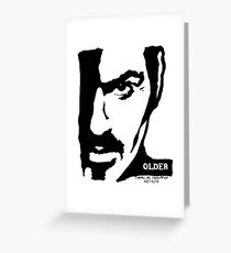 George Michael by Pasha for Goddamn Media Greeting Card