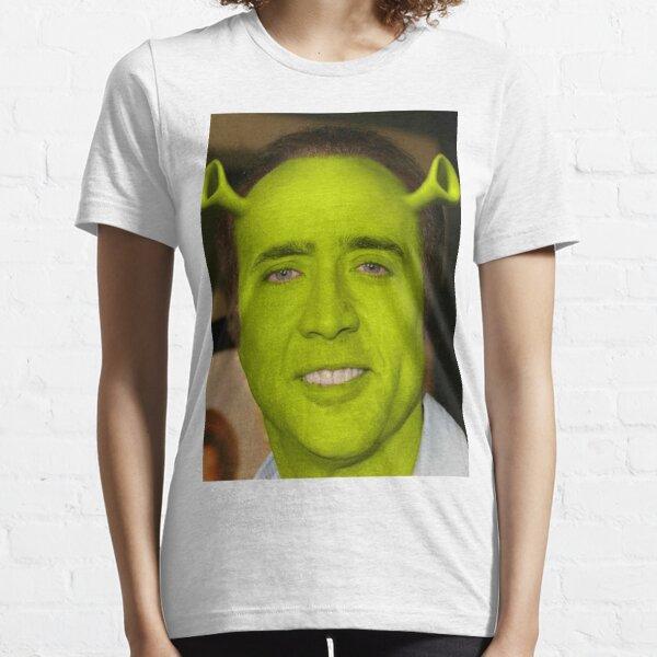 Nicolas Cage / Shrek Camiseta esencial