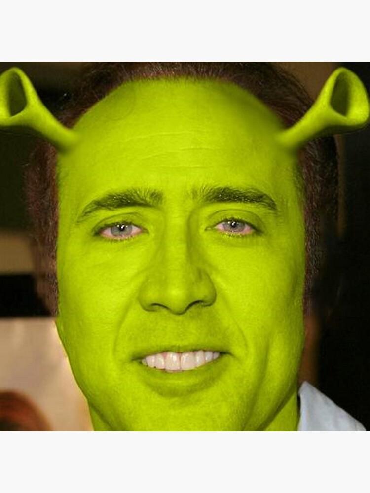 Nicolas Cage/Shrek by Lutubert