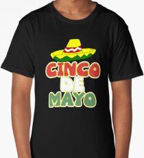 Funny Cinco De Mayo T Shirt Long T-Shirt