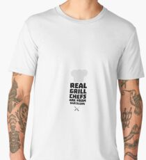 Real Grill Chefs are from Barcelona R9ar0 Men's Premium T-Shirt