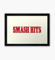 Smash Hits Framed Print