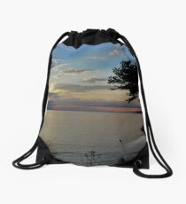 Framed by Nature Drawstring Bag