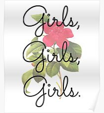 Girls, Girls, Girls. Poster