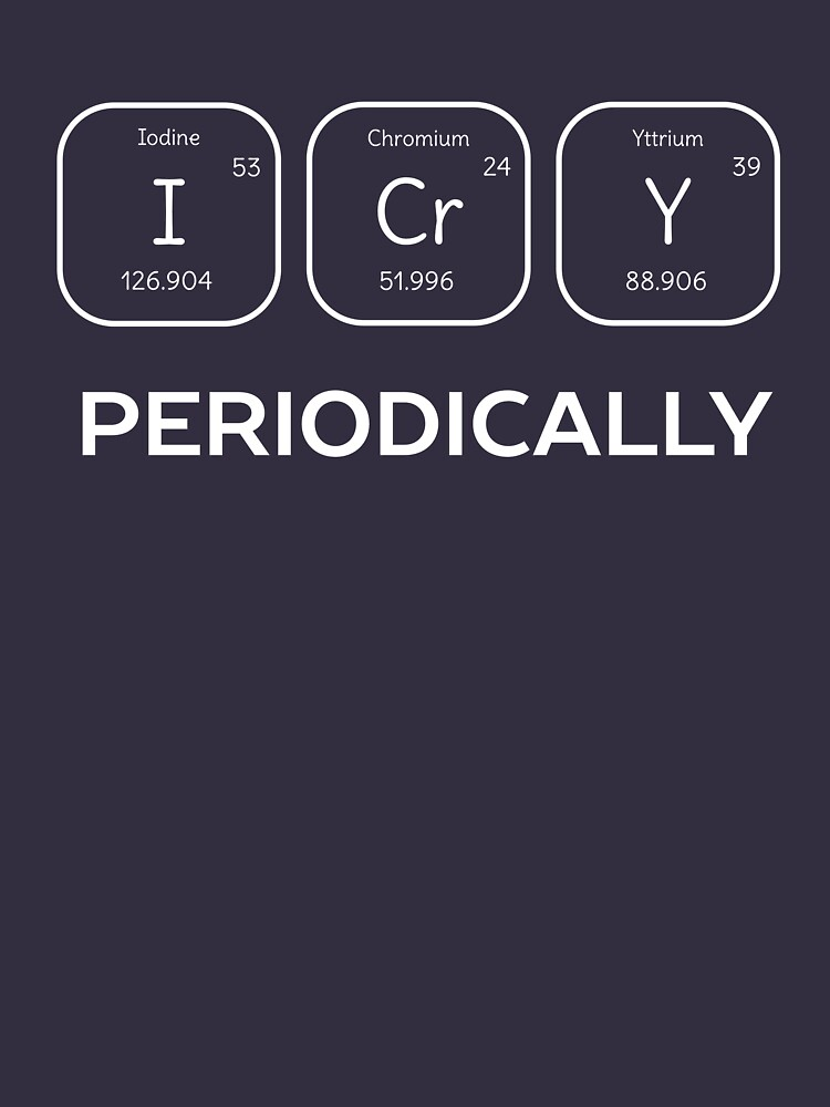 Funny Science Chemistry Pun  by happinessinatee